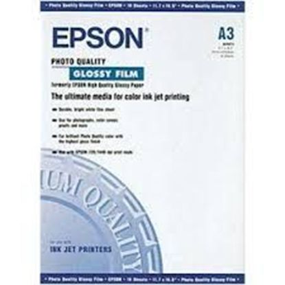 Изображение Пленка Epson A3 Photo Quality Glossy Film