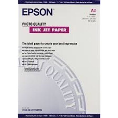 Изображение Бумага Epson A3 Photo Quality Ink Jet Paper