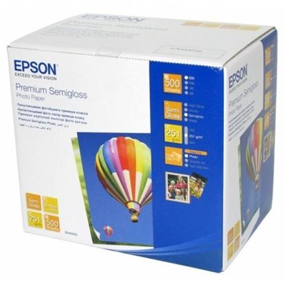 Изображение Бумага Epson 100mmx150mm Premium Semiglossy Photo Paper